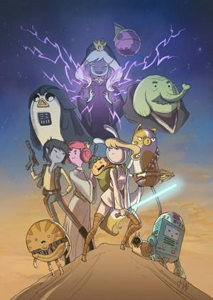 ngôi sao Wars: The Adventure Returns