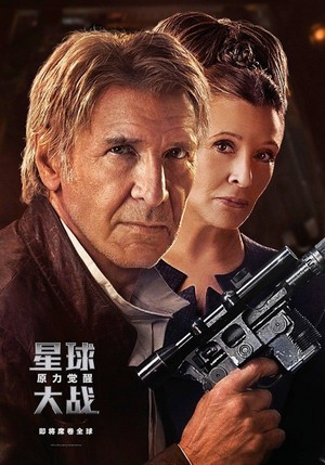 звезда Wars: The Force Awakens - Chinese Character Poster
