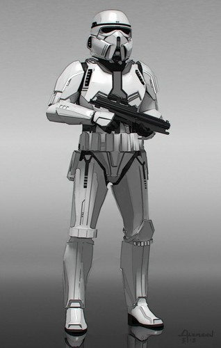 Star Wars wallpaper with a shoulder pad and a breastplate entitled Star Wars: The Force Awakens - Concept Art