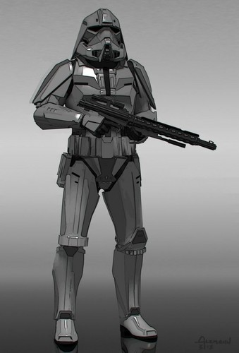stella, stella, star Wars wallpaper possibly with a navy seal, a rifleman, and a shoulder pad titled stella, star Wars: The Force Awakens - Concept Art
