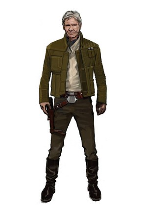 nyota Wars: The Force Awakens - Concept Art