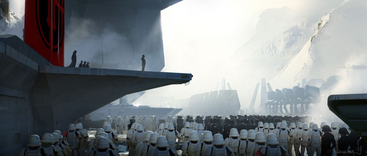 星, 星级 Wars: The Force Awakens - Concept Art