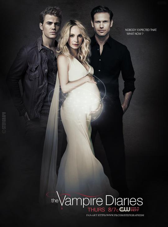 serie de televisión el diario de los vampiros imágenes stefan