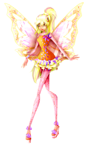 Winx Club Hintergrund probably containing a bouquet titled Stella 3D Tynix