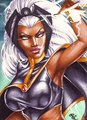 Storm - marvel-comics fan art
