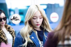 Taeyeon - Airport 151208