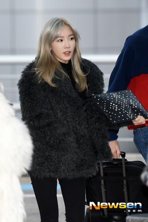 Taeyeon - Airport 151210