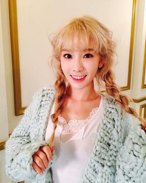 Taeyeon Instgram Update
