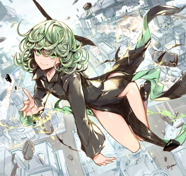 Fonds d'cran Manga Fonds d'cran Girl coup de pied par