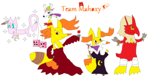 Team Mahoxy 821