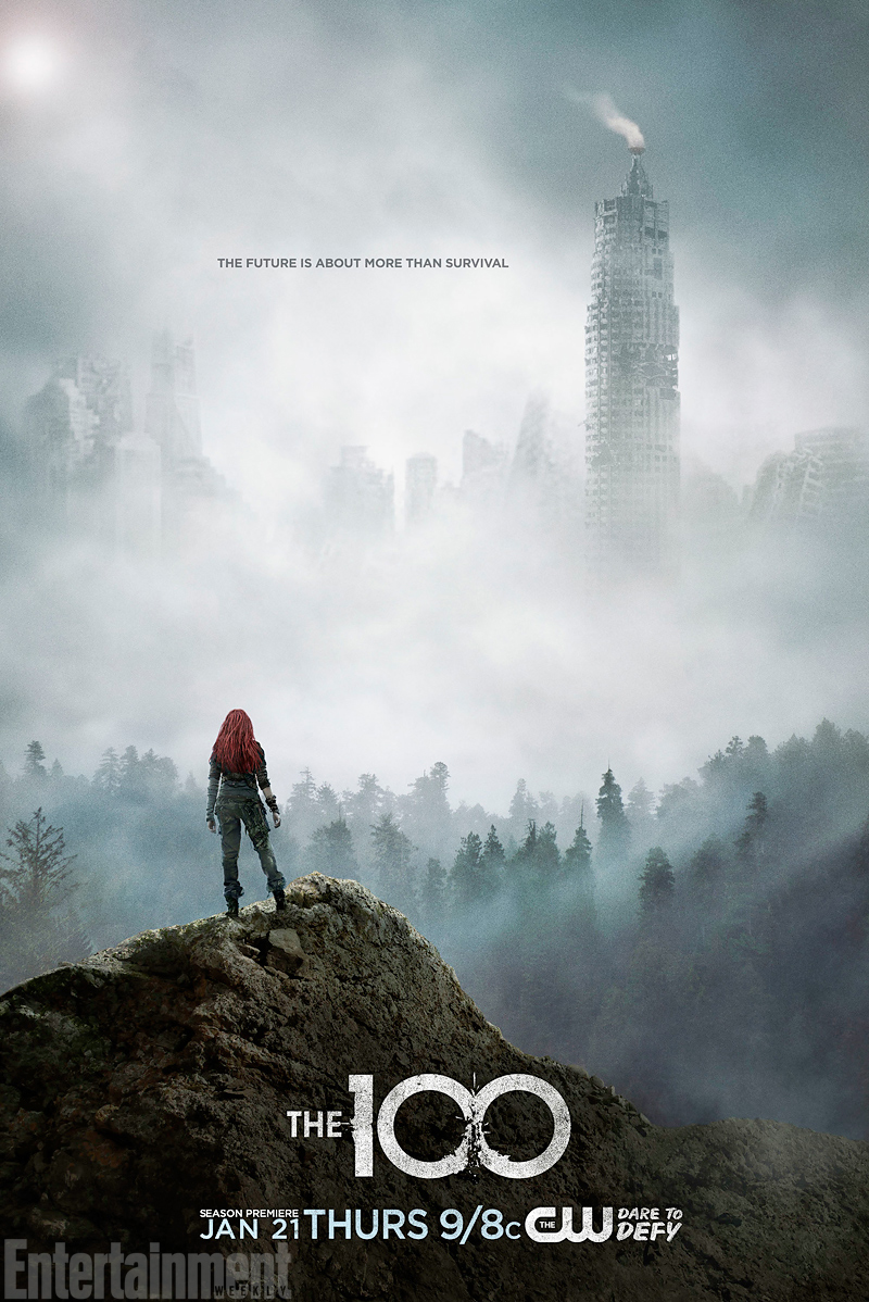 The 100 Season 3 Official Poster