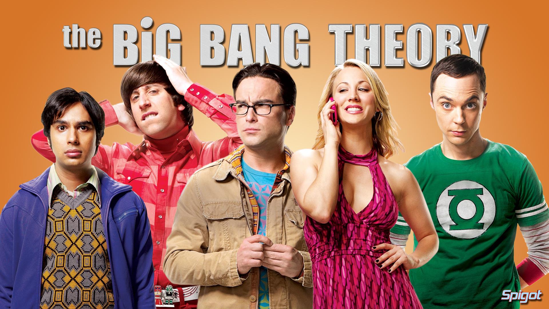 Big Bang Theory Hintergrund Called The