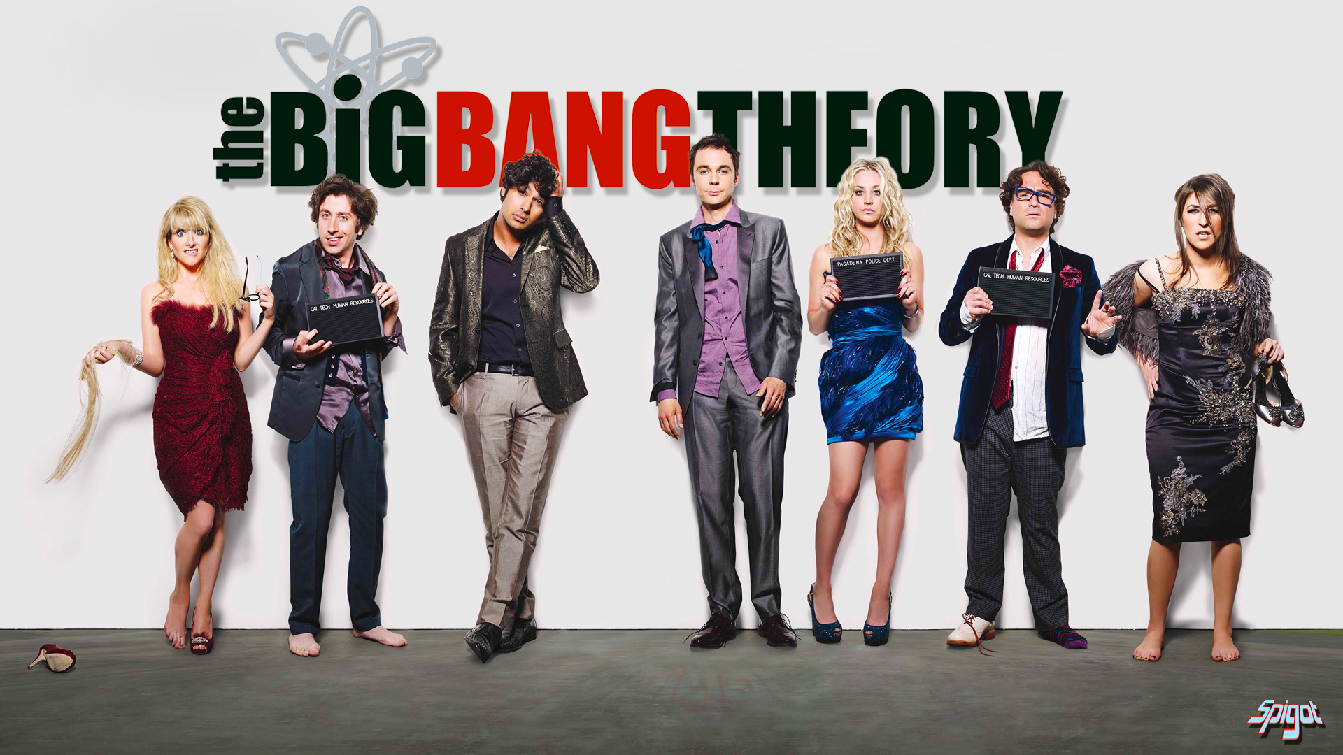 Big Bang Theory Hintergrund With A Business Suit And Well Dressed Person Titled The