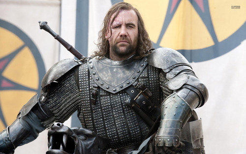 Game of Thrones پیپر وال containing a breastplate, an armor plate, and a fauld, فاولڈ titled The Hound