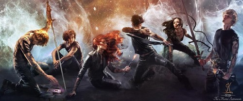 Mortal Instruments wallpaper with a fire and a fire called The Mortal Instruments