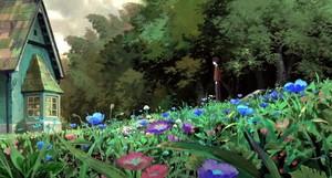 The Secret World of Arrietty Scenery