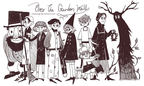 Over The Garden pader wolpeyper with anime entitled The Unknown