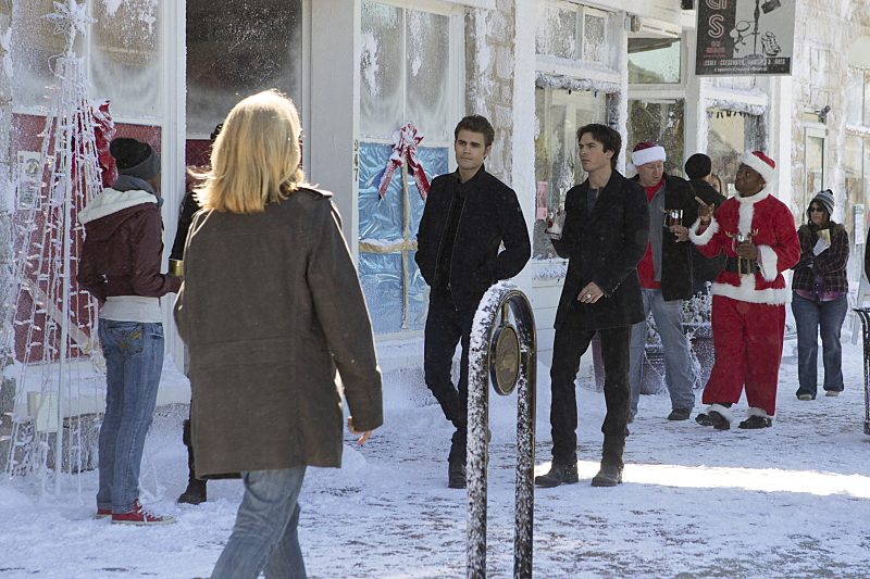 The Vampire Diaries 7x09 ''Cold as Ice''