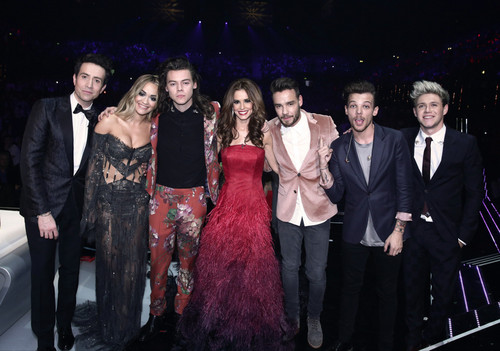 One Direction Achtergrond Containing A Bridesmaid Titled The X Factor Final 2015