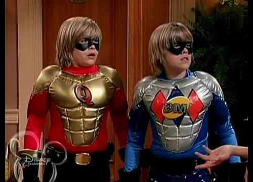 The Suite Life of Zack & Cody wallpaper containing a breastplate, an armor plate, and a fauld, falso titled The suite life of Zack and Cody