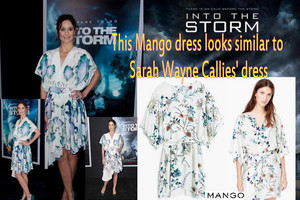 This mangue dress looks similar to Sarah Wayne Callies' dress