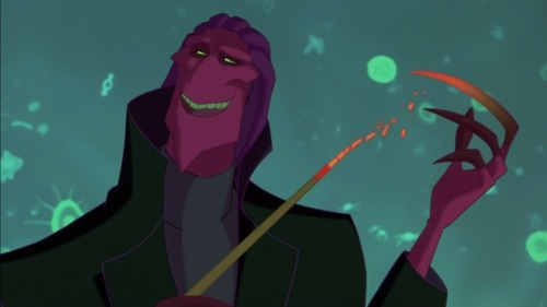Childhood Animated Movie Villains achtergrond entitled Thrax