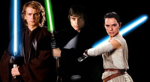 Star Wars wallpaper titled Three Generations of Skywalkers