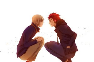 Totsuka and Mikoto