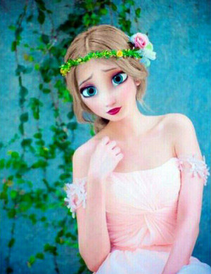 Walt Дисней Фан Art - Queen Elsa
