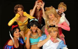 Walt Disney fan Art - Crazy Disney Girls