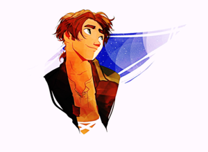 Walt Disney Fan Art - Jim Hawkins