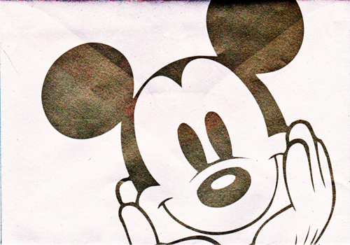 achtergrond mickey mouse