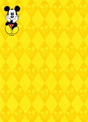 Walt Disney images - Mickey souris