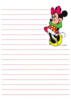 Walt Дисней Обои - Minnie мышь