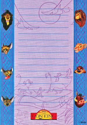 Walt Disney imej - Scar, Shenzi, Banzai, Ed, Simba, Timon, Pumbaa & Nala