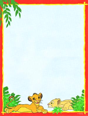 Walt Disney imej - Simba & Nala