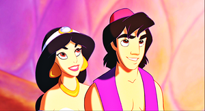 Walt Disney Screencaps - Princess jasmijn & Prince Aladdin