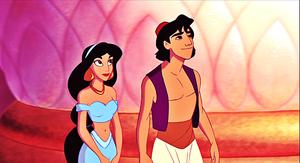 Walt disney Screencaps - Princess melati & Prince aladdin
