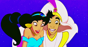 Walt Disney Screencaps - Princess jimmy, hunitumia & Prince Aladin