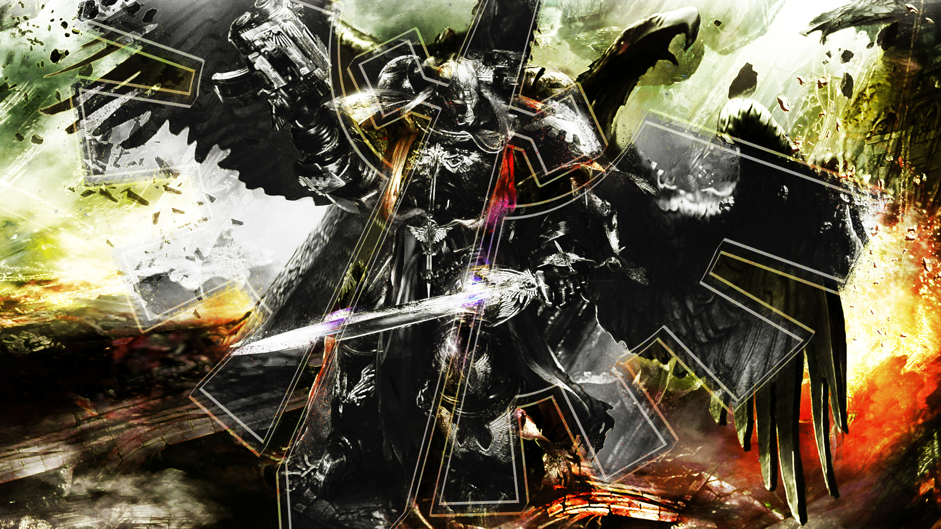 Warhammer 40K achtergrond Dark Angel