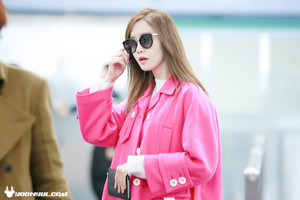 Yoona - Airport 151206