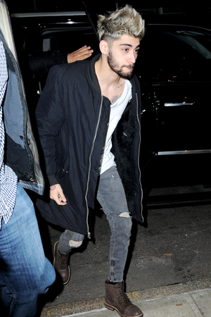 Zayn out in NYC