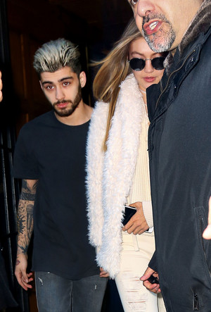 Zigi out in NYC