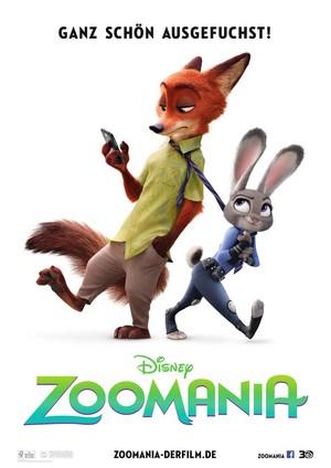 Zootopia Geman Poster
