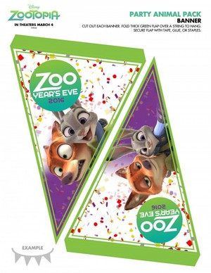Zootopia Holiday Activity Sheets