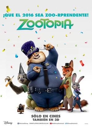 Zootopia Latin American Poster