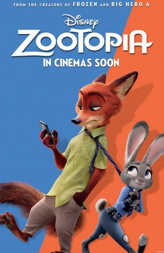 Disney's Zootopia پیپر وال possibly with عملی حکمت entitled Zootopia New Poster