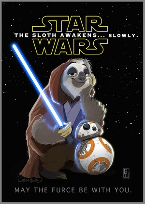 Zootopia - 星, 星级 Wars The Sloth Awakens