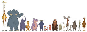 Zootopia character desain and develpoment