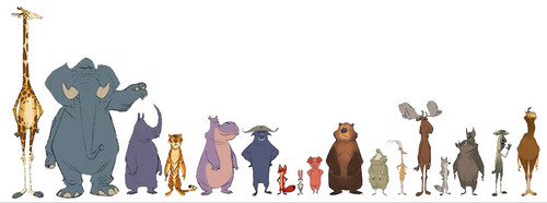 Disney's Zootopia Hintergrund titled Zootopia character Design and develpoment